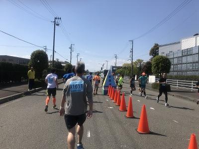 第33回焼津みなとマラソン、スタート25分後
