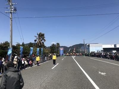 第33回焼津みなとマラソン、3キロの部スタート