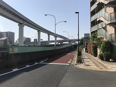 第6回あだち五色桜マラソン南扇島駅