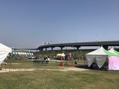 第6回あだち五色桜マラソン会場全景