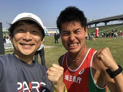 第6回あだち五色桜マラソンMタカシさん