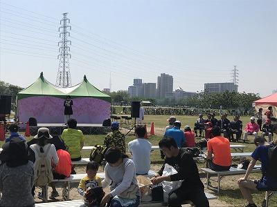 第6回あだち五色桜マラソン開会式