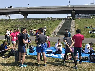 第6回あだち五色桜マラソンパッションリーダーズ