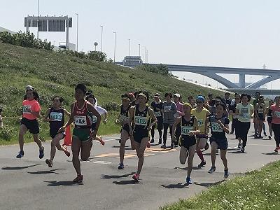 第6回あだち五色桜マラソン2キロスタート