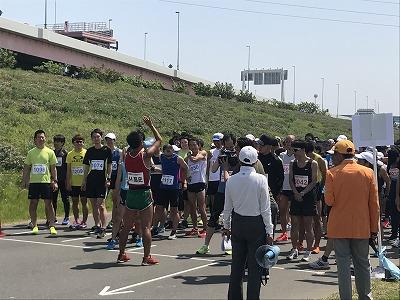 第6回あだち五色桜マラソン3キロスタート