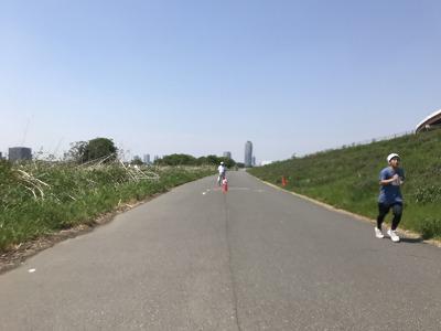 第6回あだち五色桜マラソンスタート47分後