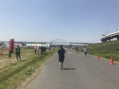 第6回あだち五色桜マラソンスタート70分後