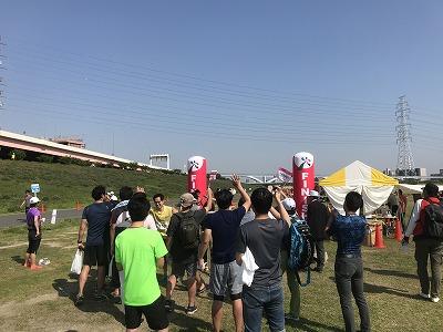 第6回あだち五色桜マラソンゴール