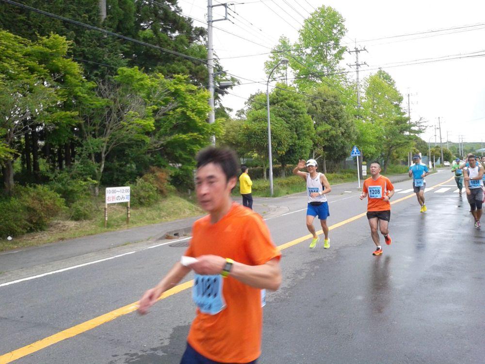 富士裾野高原マラソン、ハーフレース中