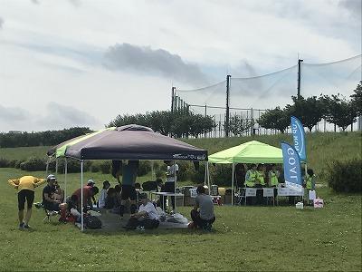 第4回UPRUN川崎等々力河川敷スプリングマラソン会場