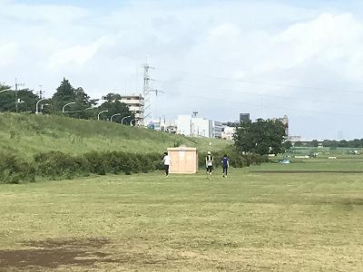 第4回UPRUN川崎等々力河川敷スプリングマラソントイレ