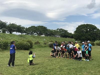第4回UPRUN川崎等々力河川敷スプリングマラソン30キロ