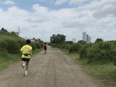 第4回UPRUN川崎等々力河川敷スプリングマラソン、ハーフスタート