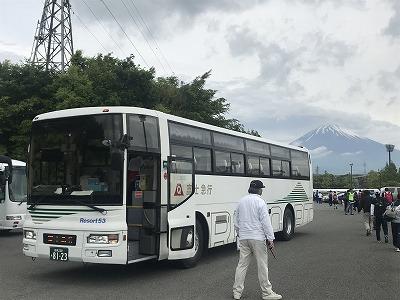 第42回富士裾野高原マラソン、会場到着