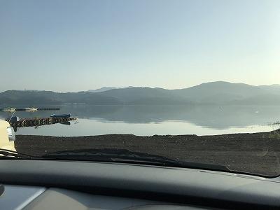 第38回スポニチ山中湖ロードレース山中湖畔