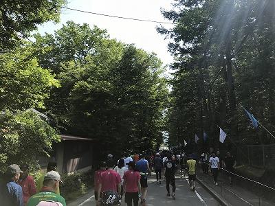 第38回スポニチ山中湖ロードレーススタート直前