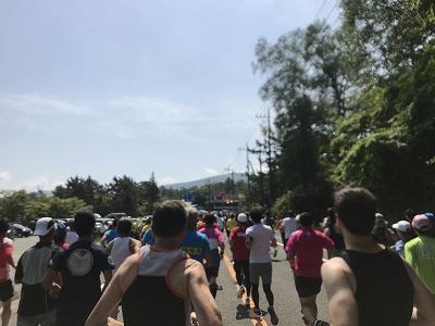 第38回スポニチ山中湖ロードレーススタート直後