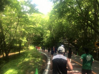 第38回スポニチ山中湖ロードレーススタート37分後