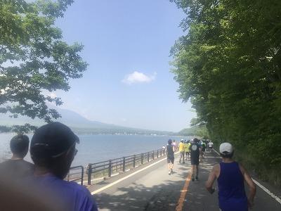 第38回スポニチ山中湖ロードレーススタート40分後