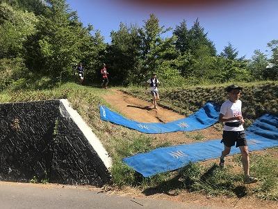 第9回忍野高原トレイルレース、給水所