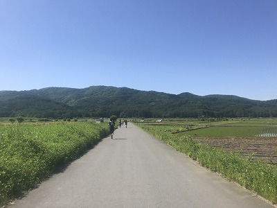 第9回忍野高原トレイルレース、スタート74分後