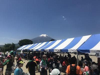 第9回忍野高原トレイルレース、休憩