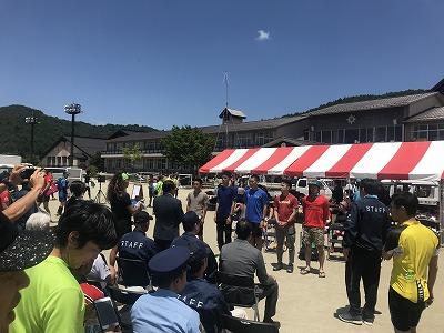 第9回忍野高原トレイルレース、表彰式