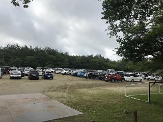 第34回西湖ロードレース駐車場