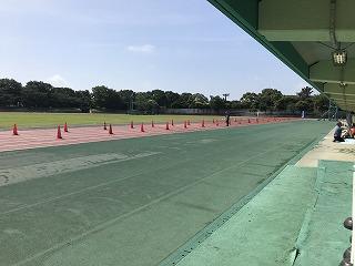 第4回UPRUN品川マラソン大会大井陸上競技場