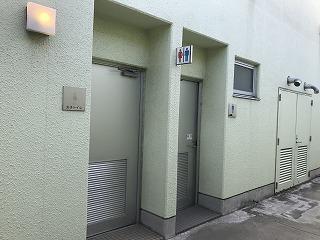 第4回UPRUN品川マラソン大会大井陸上競技場トイレ