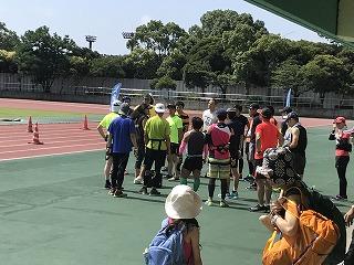 第4回UPRUN品川マラソン大会大井陸上競技場30キロ