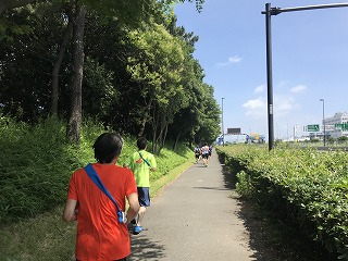 第4回UPRUN品川マラソン大会ハーフマラソン