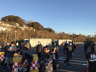 第9回湘南藤沢市民マラソンスタート会場