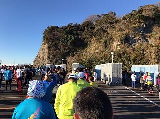 第9回湘南藤沢市民マラソンスタート会場トイレ