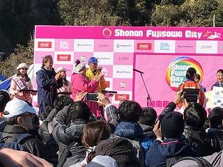第9回湘南藤沢市民マラソン表彰式