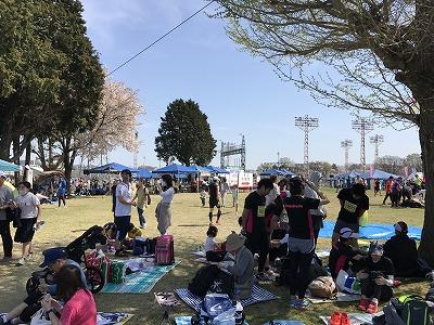 第21回 東日本国際親善マラソン中央広場