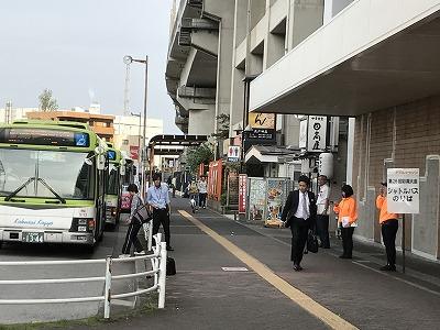 ベジタブルマラソンin彩湖北戸田駅無料送迎バス