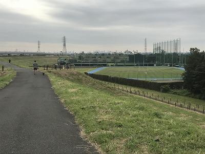 ベジタブルマラソンin彩湖会場の公園