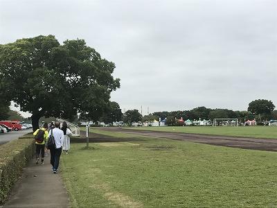 ベジタブルマラソンin彩湖会場の道満グリーンパーク
