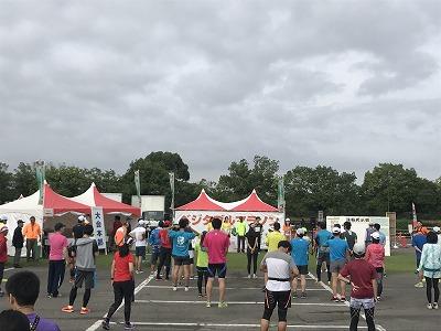 ベジタブルマラソンin彩湖開会式