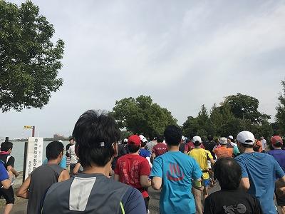 ベジタブルマラソンin彩湖スタート