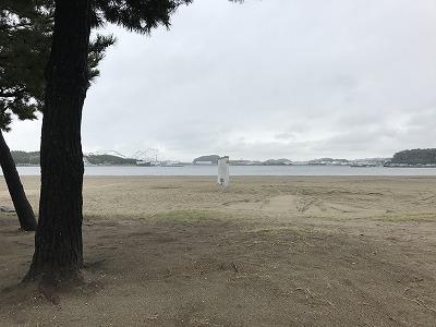 第1回横浜(YOKOHAMA)ビーチサイドマラソン景色