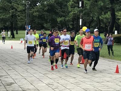 第1回横浜(YOKOHAMA)ビーチサイドマラソンフルマラソン