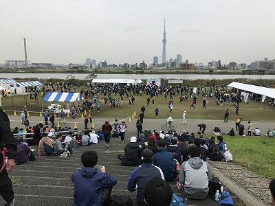 東京トライアルハーフマラソン2017全景