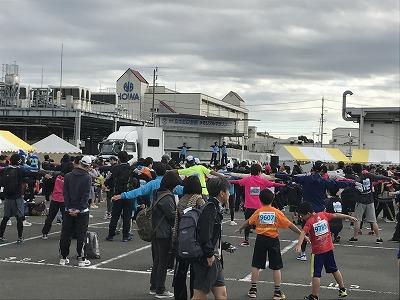 ジュビロ磐田メモリアルマラソン体操