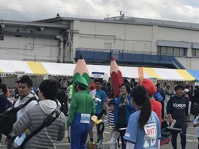 ジュビロ磐田メモリアルマラソン仮装