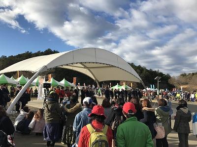 第12回かさま陶芸の里ハーフマラソン大会開会式