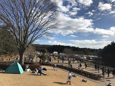 第12回かさま陶芸の里ハーフマラソン大会会場全景