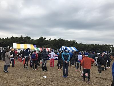 第1回谷川真理クリスマスマラソン受付
