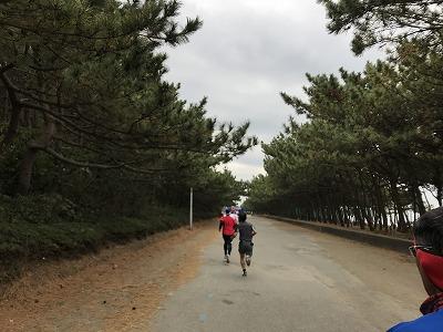 第1回谷川真理クリスマスマラソンハーフマラソンスタート
